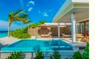 Dhigali Maldives Beach Villa with Pool