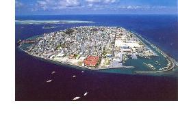 Столицата на Малдивите Мале'