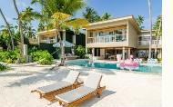 hotels exotic holidays Amilla Fushi Island Resort Maldives Beach Residences 4 Bedroom