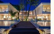 hotels exotic holidays Amilla Fushi Island Resort Maldives The Great Beach Villa Residence 8 Bedroom