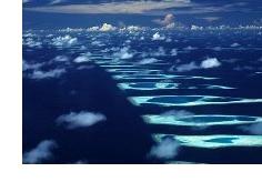 Атол в Малдиви