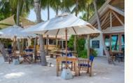 hotels exotic holidays Amilla Fushi Island Resort Maldives The Emperor Beach Club